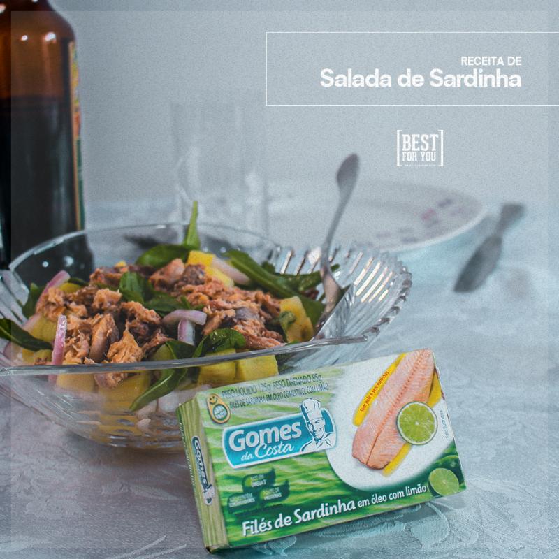 salada de sardinha